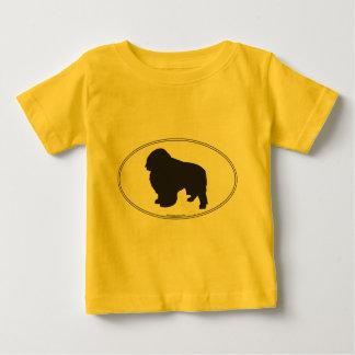 English Toy Spaniel Silhouette Baby T-Shirt