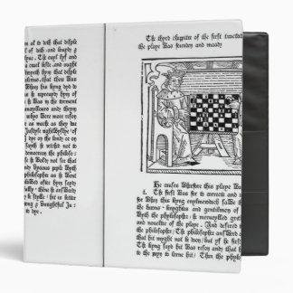 English translation of 'De Ludo Saccorum' 3 Ring Binders