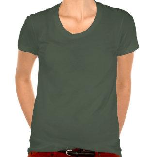 English Tribal Soccer Ladies Poly-Cotton T-Shirt