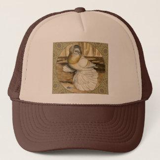 English Trumpeter Gold Frame Trucker Hat