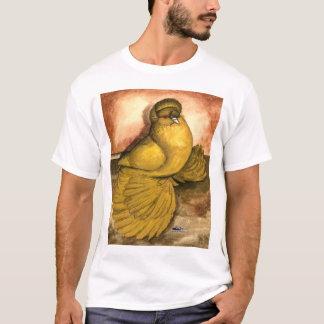English Trumpeter Yellow Self T-Shirt
