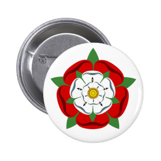 English Tudor Rose Button