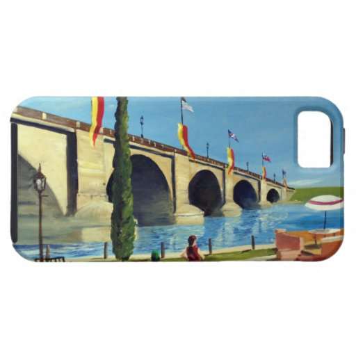 English Village by Paul Bryan Wadsworth iPhone 5 Case