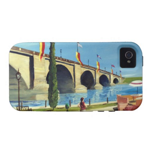 English Village by Paul Bryan Wadsworth Case-Mate iPhone 4 Cover