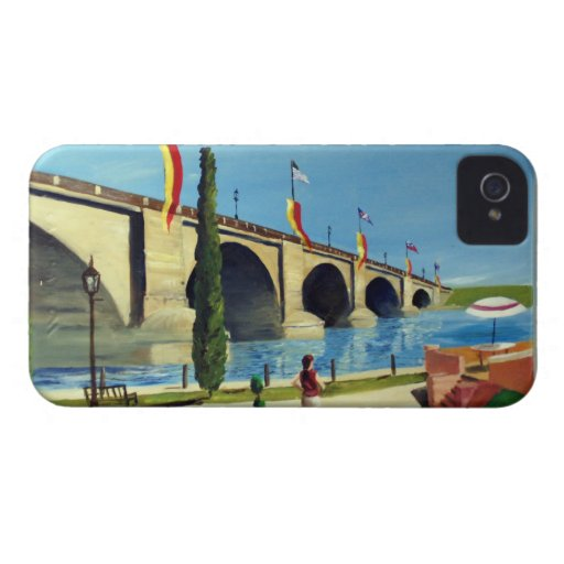 English Village by Paul Bryan Wadsworth iPhone 4 Cover