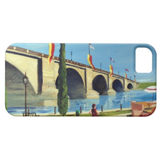 English Village by Paul Bryan Wadsworth iPhone 5 Covers