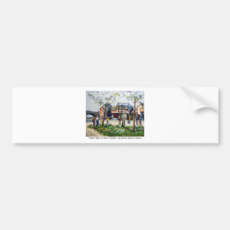 English Village by Renee Theobald Bumper Sticker