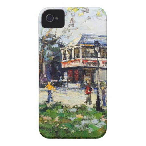 English Village by Renee Theobald Case-Mate iPhone 4 Cases