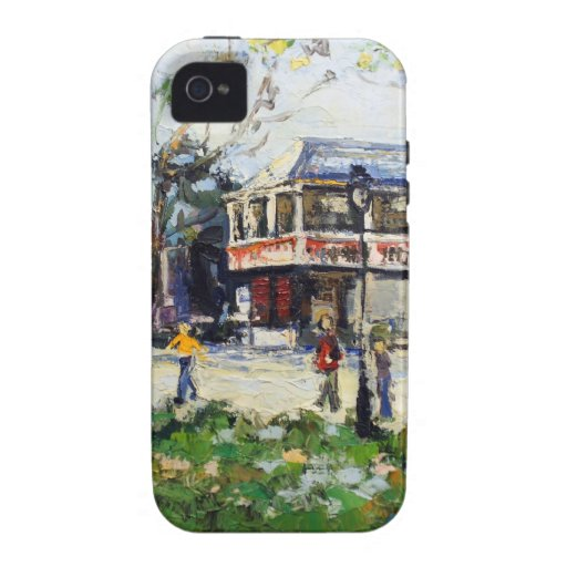 English Village by Renee Theobald Case-Mate iPhone 4 Covers