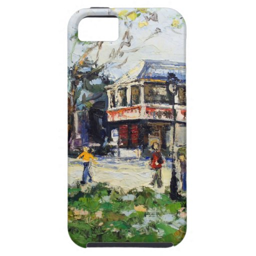 English Village by Renee Theobald iPhone 5 Cover