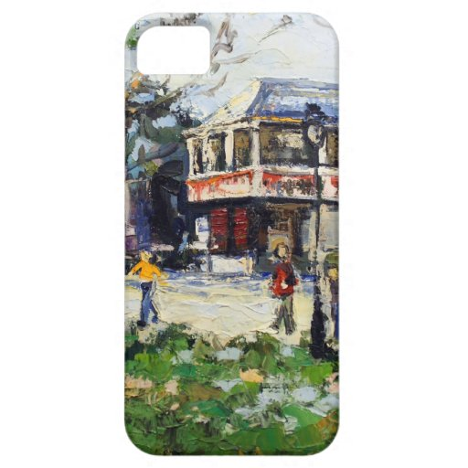 English Village by Renee Theobald iPhone 5 Case