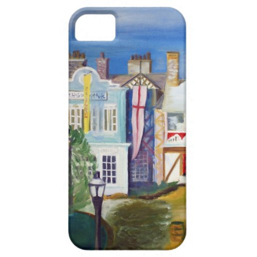 English Village by Robert Spicer iPhone 5 Cover