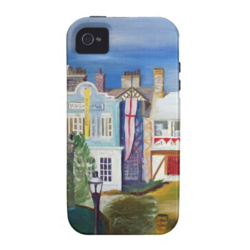 English Village by Robert Spicer Case For The iPhone 4