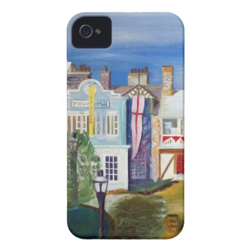 English Village by Robert Spicer Case-Mate iPhone 4 Cases