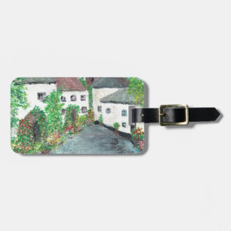 English Village Tag For Bags