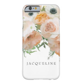English Vintage Rose Bouquet Pretty Floral Artwork Barely There iPhone 6 Case