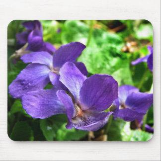 English Violet Mousepad