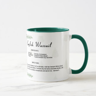English Wassail Mug