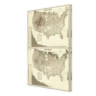 English, Welsh, British Americans Canvas Print