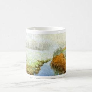 English Wetlands watercolor Classic White Coffee Mug
