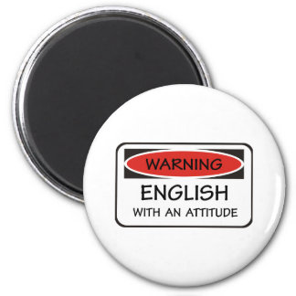 English With An Attitude Magnet