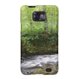 English Woodland Stream Samsung Galaxy S2 Cases