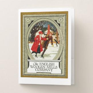 English Woolen Mills Company Pocket Folder