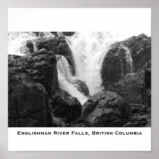 Englishman River Falls - Vancouver Island, Engl... Poster