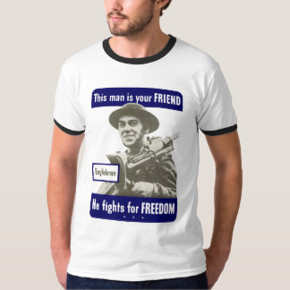 Englishman -- This Man Is Your Friend T-Shirt