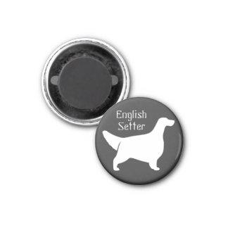 EnglishSetter 1 Inch Round Magnet