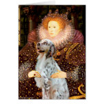 EnglishSetter 1 - Queen Greeting Cards