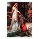 EnglishSetter 1 - The Accolade Greeting Card
