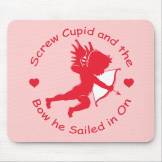 Engranaje anti del Cupid Alfombrillas De Raton