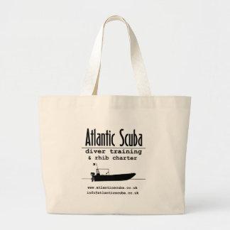Engranaje atlántico del diseñador del equipo de su bolsa tela grande
