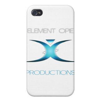Engranaje calificado Opie del elemento iPhone 4 Carcasa