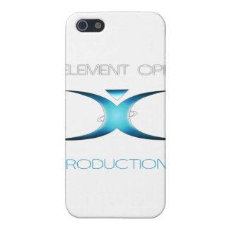 Engranaje calificado Opie del elemento iPhone 5 Carcasas