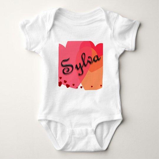 Engranaje conocido personalizado body para bebé