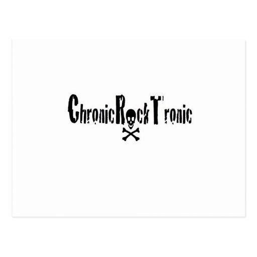 Engranaje crónico de Tronic de la roca Tarjetas Postales