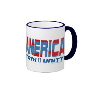 Engranaje de Barack América Taza De Dos Colores