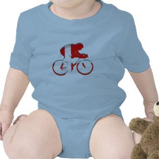 Engranaje de ciclo danés del danés de la bicicleta trajes de bebé