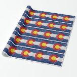 Engranaje de Colorado Papel De Regalo