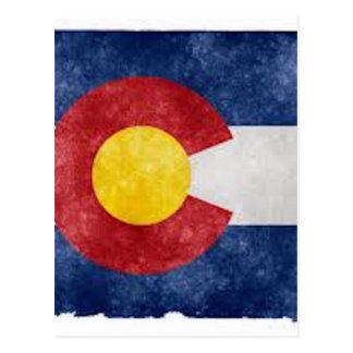 Engranaje de Colorado Tarjeta Postal