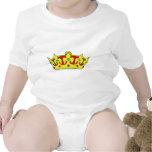 Engranaje de corona real camisetas
