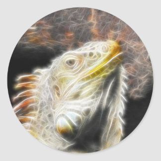 Engranaje de Fracguana Pegatina Redonda