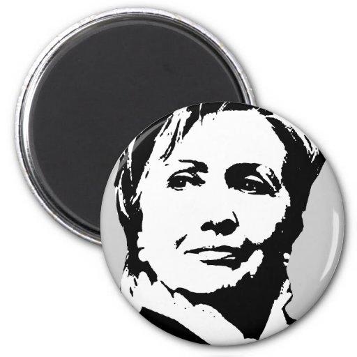 Engranaje de Hillary Clinton Imanes De Nevera