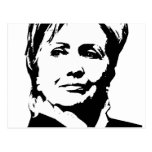 Engranaje de Hillary Clinton Tarjeta Postal