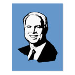 Engranaje de John McCain Tarjetas Postales