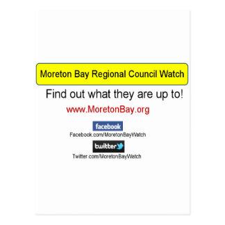 Engranaje de la bahía de Moreton Tarjeta Postal