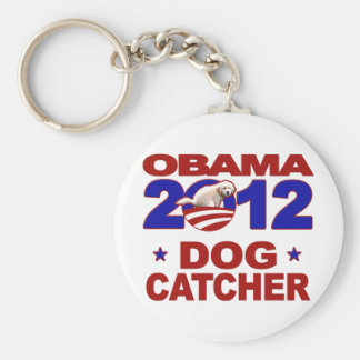 Engranaje de la campaña de Obama 2012 Llavero Personalizado