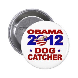Engranaje de la campaña de Obama 2012 Pin Redondo 5 Cm